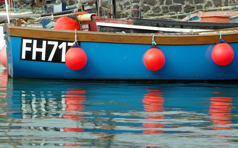 Cornish fishing harbour